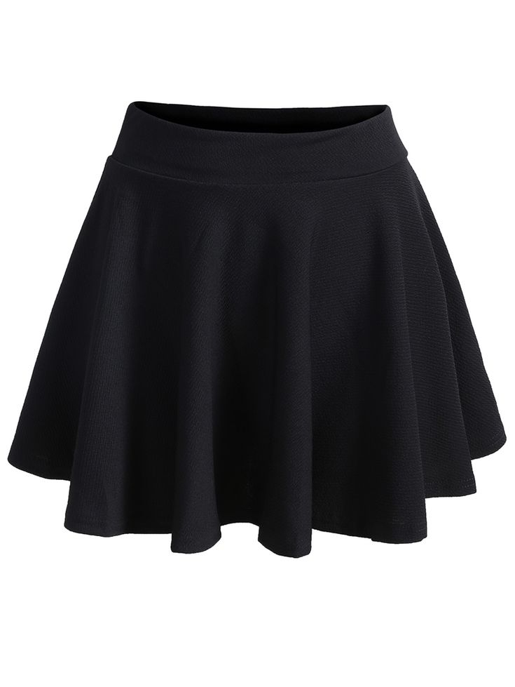 Shop Elastic Waist Pleated Black Skirt online. SheIn offers Elastic Waist Pleated Black Skirt & more to fit your fashionable needs.