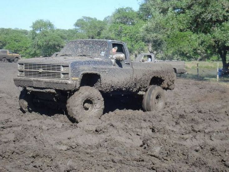 how to go mudding in a truck