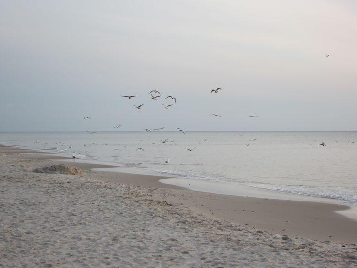Am Strand von Nr. Lyngvig im Winter  #NrLyngvig #Winter #Nordsee #Dänemark #Strand