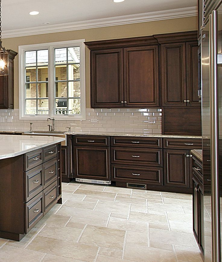 Dark Cherry Kitchen Cabinets: 80 Best Images About CLASSIC KITCHENS On Pinterest