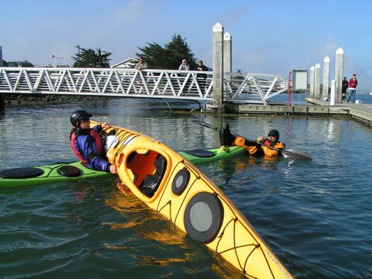 What to do if you capsize your kayak in cold water? An important skill to practice so that you can stay safe when it happens.