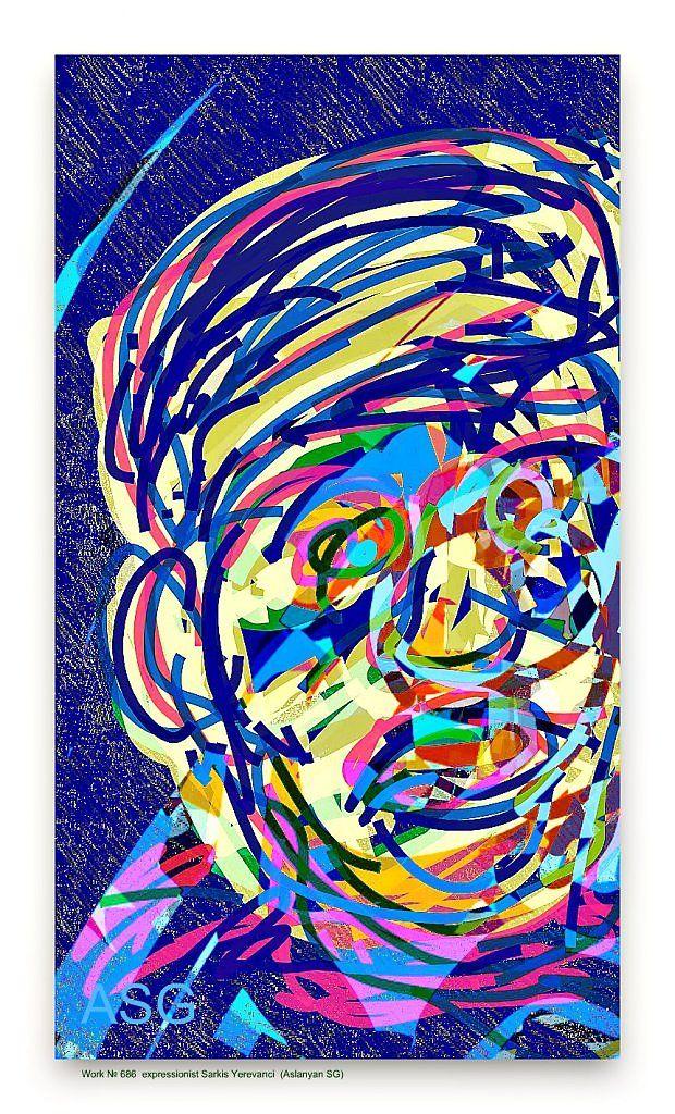 """The doctor before the surgery"" - Изобразительное искусство - Карандаш, ручка, фломастер."