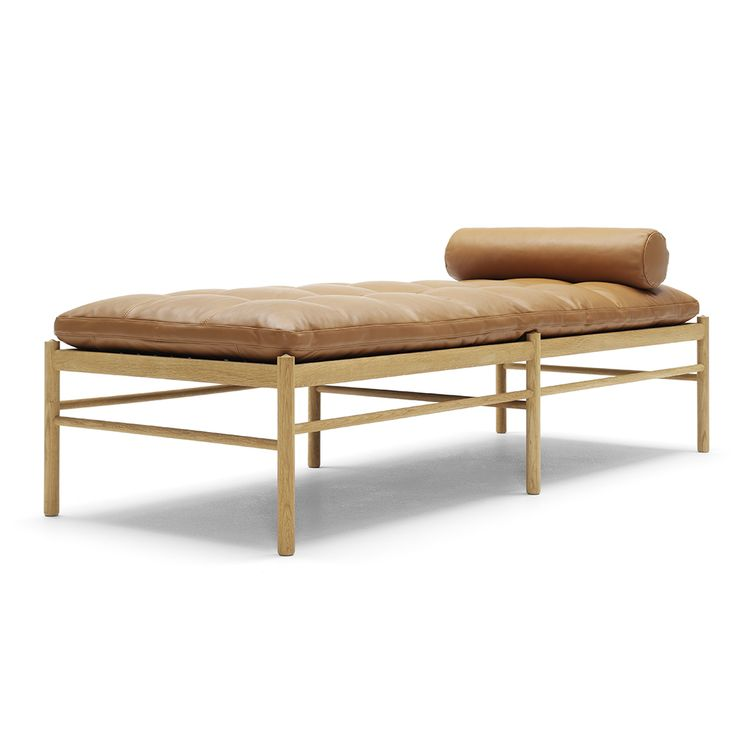 Shop SUITE NY for the OW150 Daybed designed by Ole Wenscher, manufactured by Carl Hansen & Son and more iconic Danish design and midcentury design