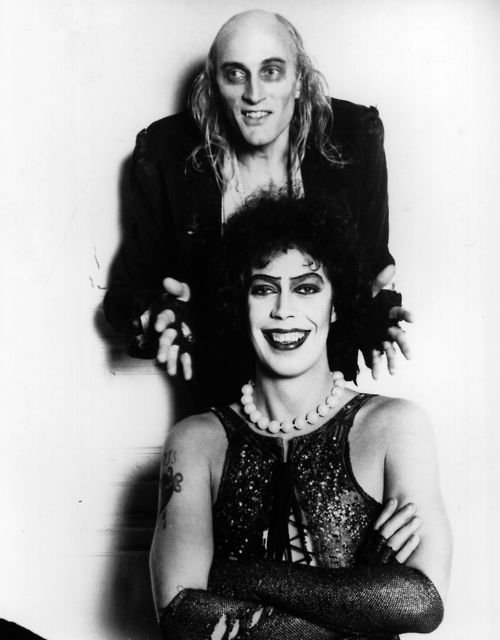Tim Curry has such a beautiful smile!
