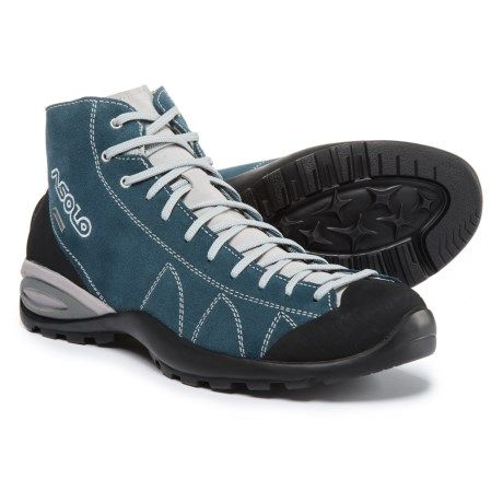 8648a8e7ba13 Asolo Cactus Gore-Tex® Suede Hiking Boots - Waterproof (For Men) in Denim  Blue