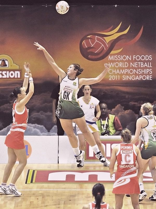 South African captain Amanda Mynhardt is truly grateful for the opportunity to experience netball in New Zealand.
