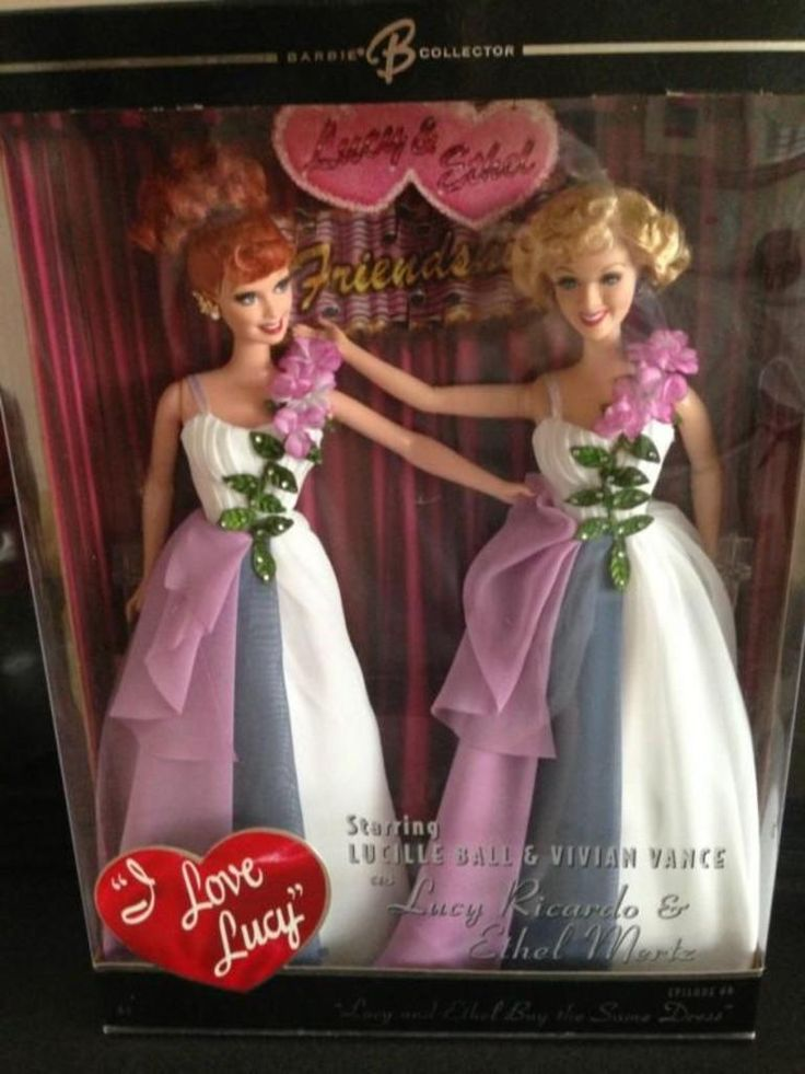 I Love Lucy Barbie Doll Episode 69 Lucy and Ethel Buy the Same Dress