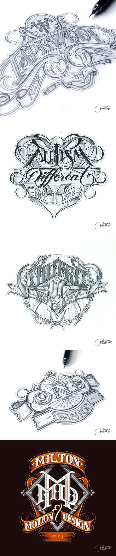 Martin Schmetzer - Beautiful hand lettering