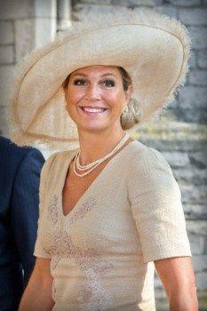 Queen Máxima. September 3, 2014 in Fabienne Delvigne | Royal Hats