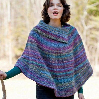 Poncho de trico como fazerPoncho de trico como fazer