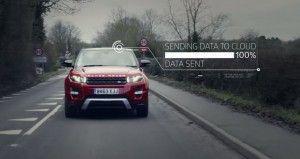 Land Rover Pothole Alert Technology
