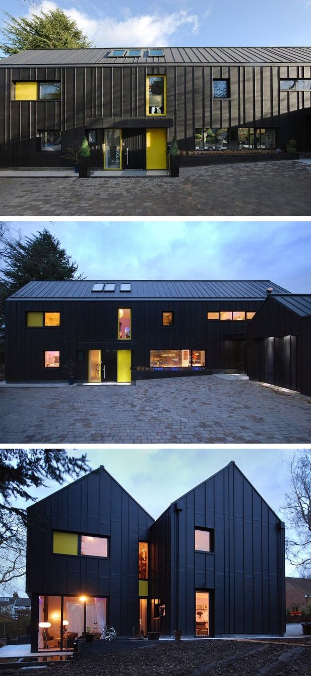 contemporist:  Stephen Davy Peter Smith Architects designed MiCasa, a home for a family located in Hertfordshire, England.via contemporist.com