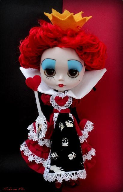 queen of hearts blythe!! By Madame Mix