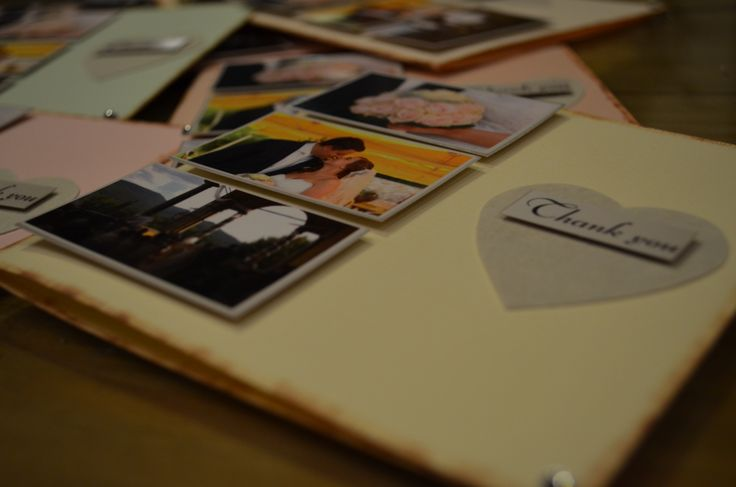 Wedding 'Thank You' cards