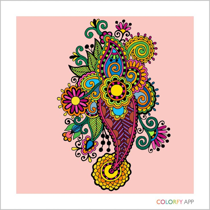 72 Digital Coloring Book App