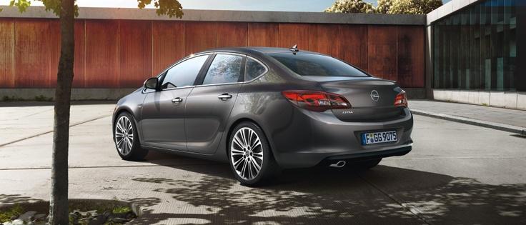 Nuevo Opel Astra Sedán