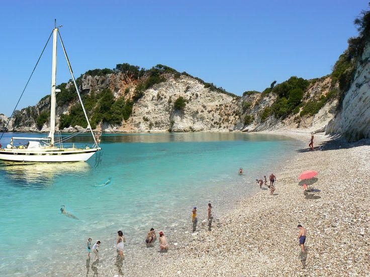 Ιthaca beach