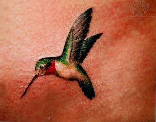 Tattoos Of Humming Bird: Hummingbird