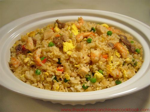 Combination fried rice, so good and easy..used brown rice to be a little more healthy