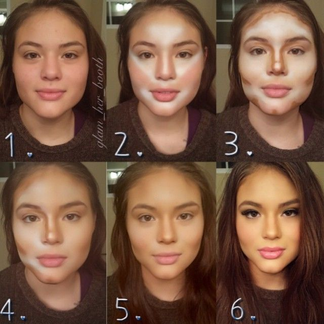 Had to repin this! Its kinda amazing what makeup can do