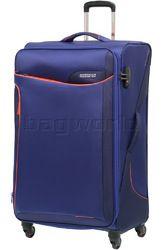 American Tourister Applite 2.0 Large 82cm Softside Suitcase Bodega Blue 68054