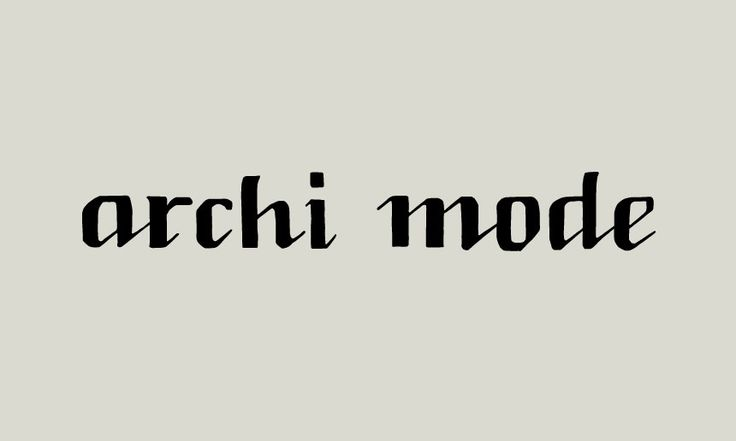 "PanaHome ""archi mode"" Logo Design 