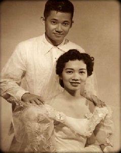 Ninoy Aquino ♥ Cory Cojuanco   11 October 1954
