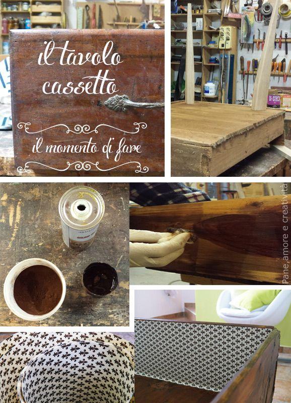 Momenti del progetto Cassetto tavolino Il mio angolo di stile  #ilmomentodifare