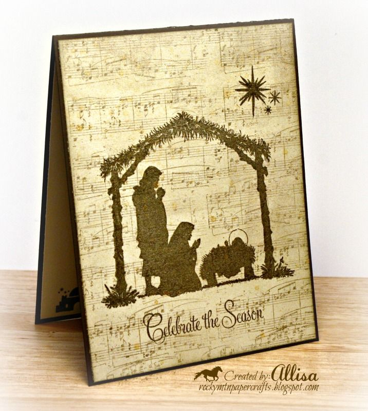 Cards Christmas close to my heart | D1483+Glory+to+God+Close+To+My+Heart+script+Christmas+Card.jpg