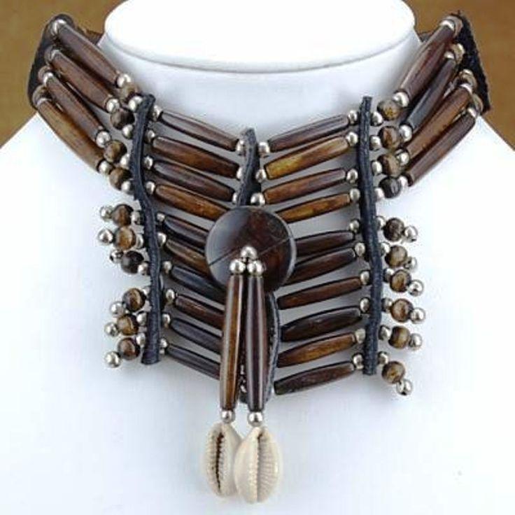 Bone Jewelry | Apache Indian Style Bone Choker Necklace