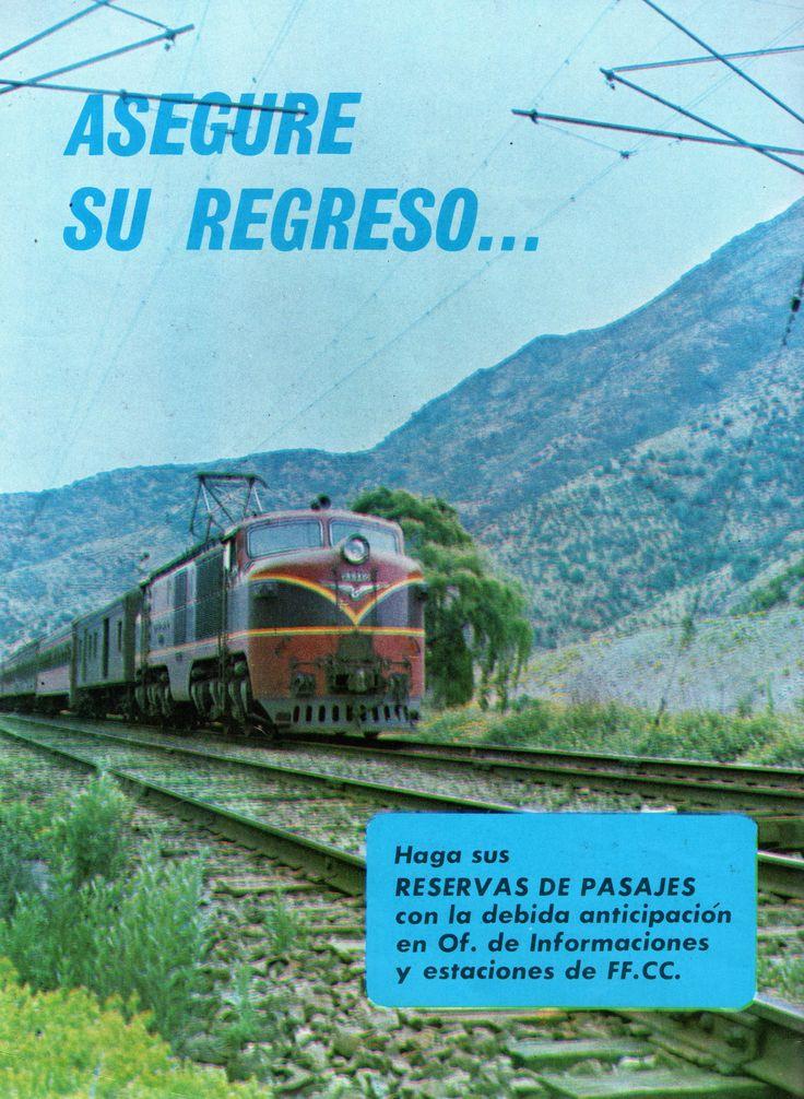 Ferrocarriles del Estado, Locomotora eléctrica Breda Marelli clase E 32.   Revista en Viaje N°466 Diciembre 1972.