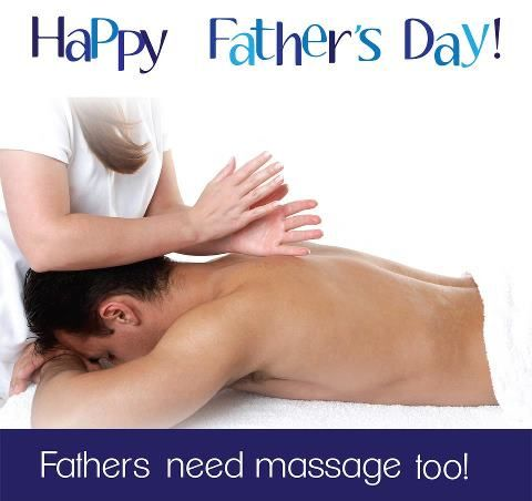 Father's need Las Vegas Massage as well!