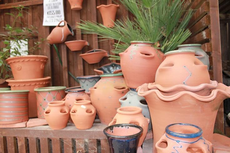 Aylesford Pottery: Part of the garden range