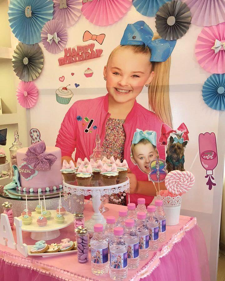 Jojo Siwa themed birthday party jojo siwa birthday party ideas