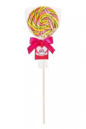"""ЛЕДЕНЕЦ """"СЛАДКИЕ МЕЧТЫ"""" Карамель леденцовая со вкусом манго, 30г, Д=6см, на палочке ЦЕНА: 160 руб. #Подарки, #Подарки для женщин"""
