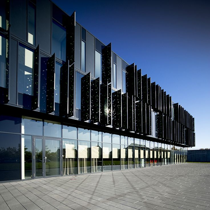 Brønden Culture House by aarhus arkitekterne #danisharchitecture #scandinavianarchitecture #culture #facade