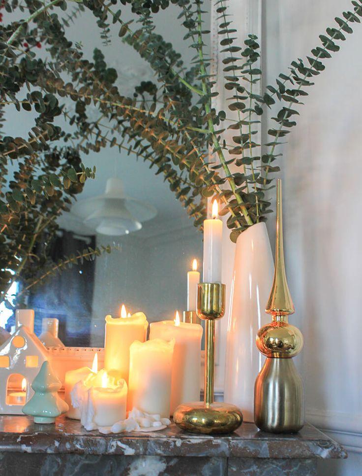 Décorer une cheminée en marbre - FrenchyFancy