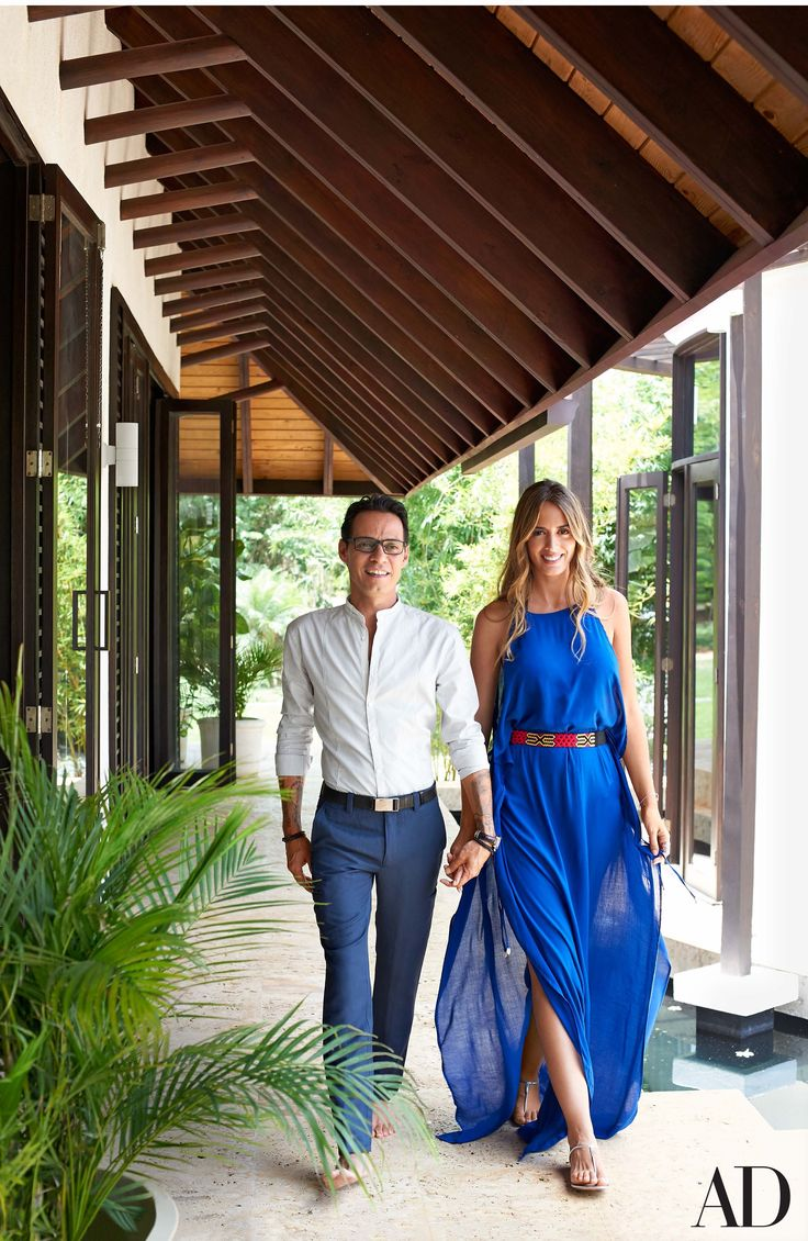 Marc Anthony and Shannon de Lima Muñiz Create an Oasis in the Dominica Photos…