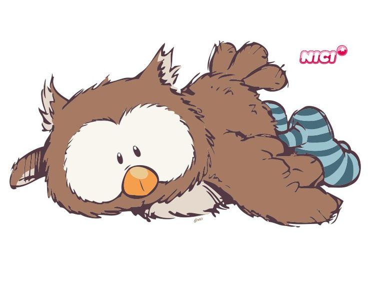 Stunning Wandtattoo Oscar Owl