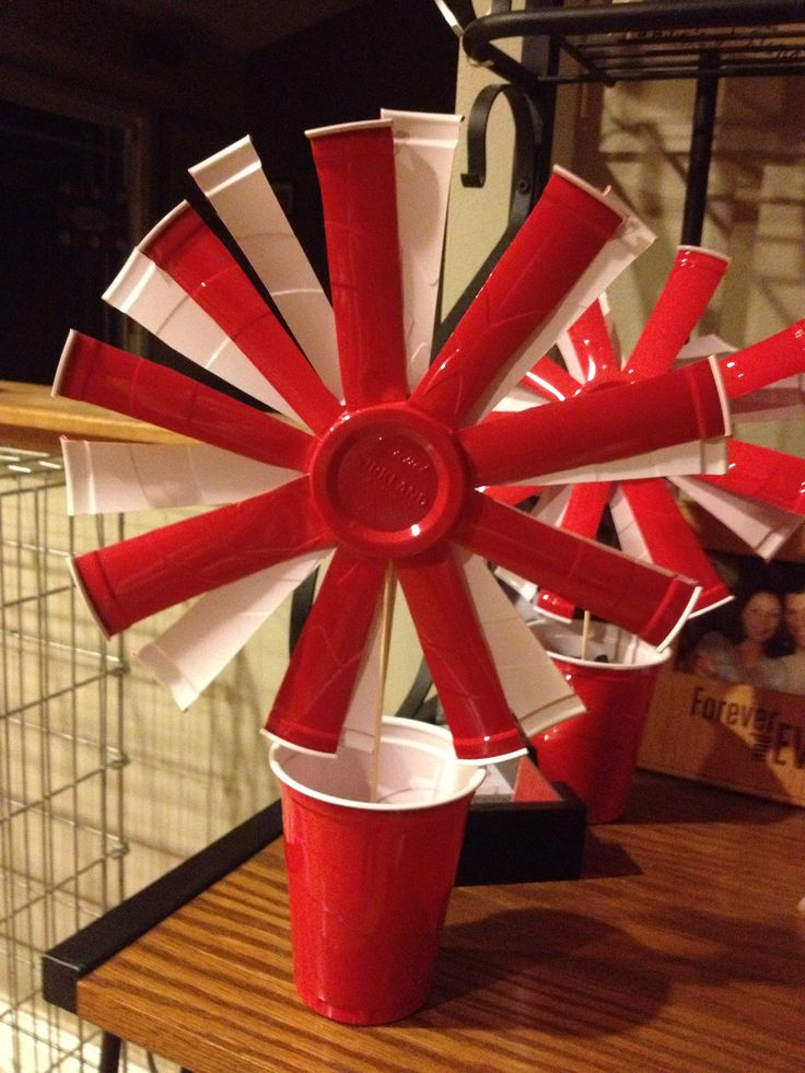 Red Solo Cup Centerpiece