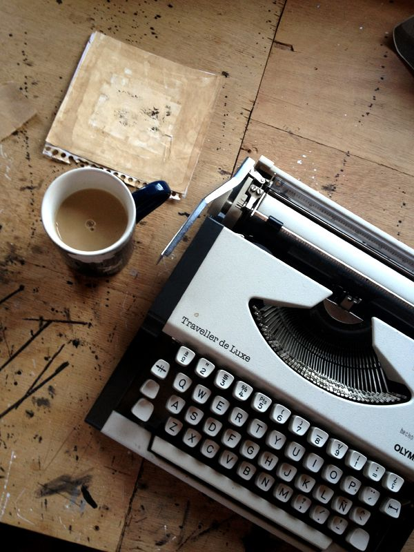 coffee between words