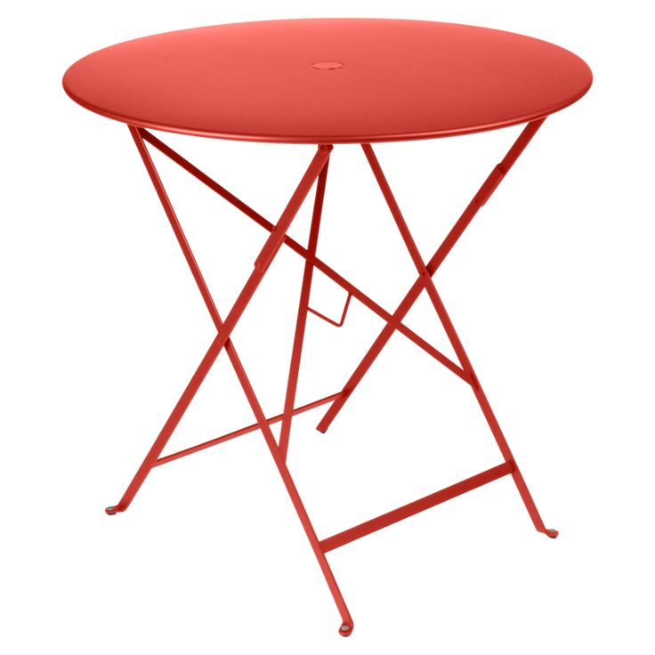 1000 id es sur le th me table ronde pliante sur pinterest for Table jardin metal ronde pliante