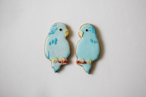 小鳥クッキー♡