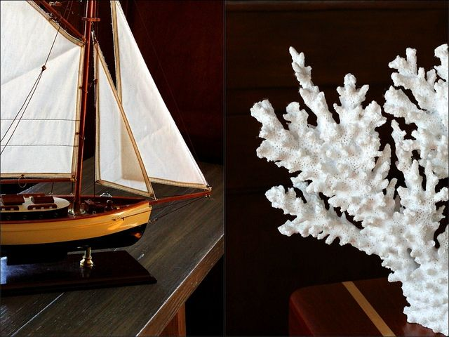 Nautical detail at the Monterey Plaza Hotel + Spa | via Weekend Del Sol