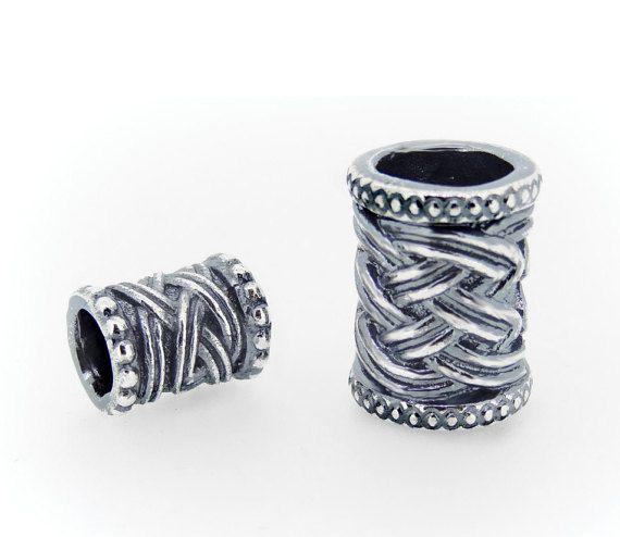 Viking Beard Rings - Dwarven Beard Beads - Suitable for Vikings or Dwarves.Anneau Barbe. Кольцо для бороды