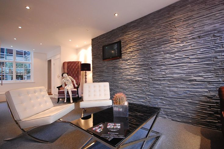 Dreamwall Slate as used by Accorn estates London for their office