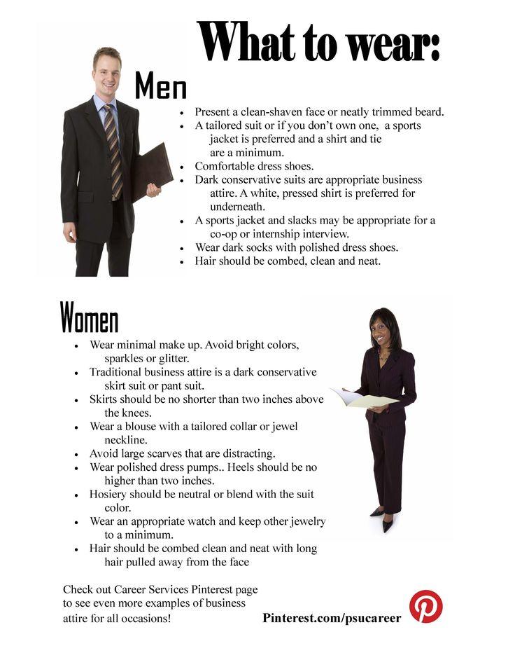 Casual Interview Attire Men