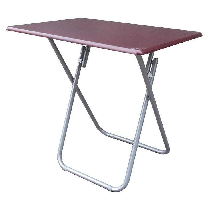 Heels Above Jumbo Folding Utilty Table (Brown)