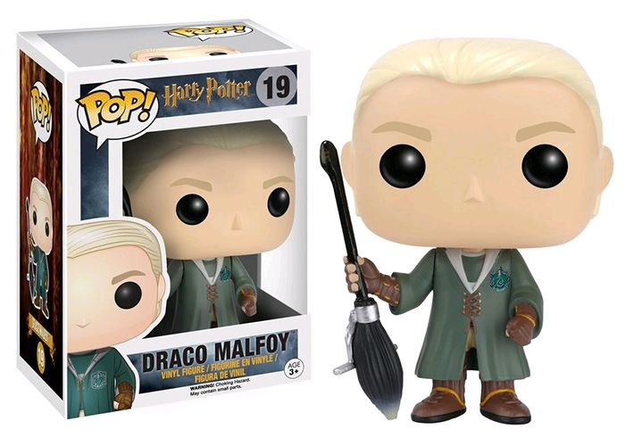 Harry Potter – Draco Malfoy Quidditch Hot Topic Exclusive Pop! Vinyl Figure
