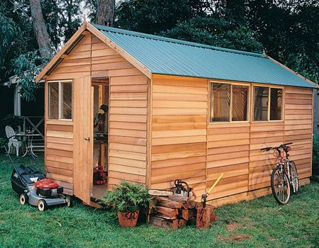 ... Garden Sheds With Windows